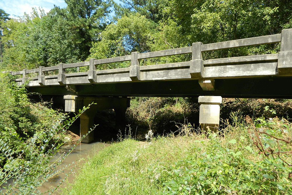 Bridge looking North